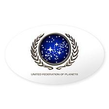STAR TREK UFP Insignia Decal