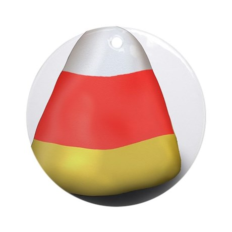 CandyCorn Ornament (Round)