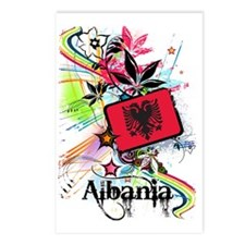 flowerAlbania1 Postcards (Package of 8)