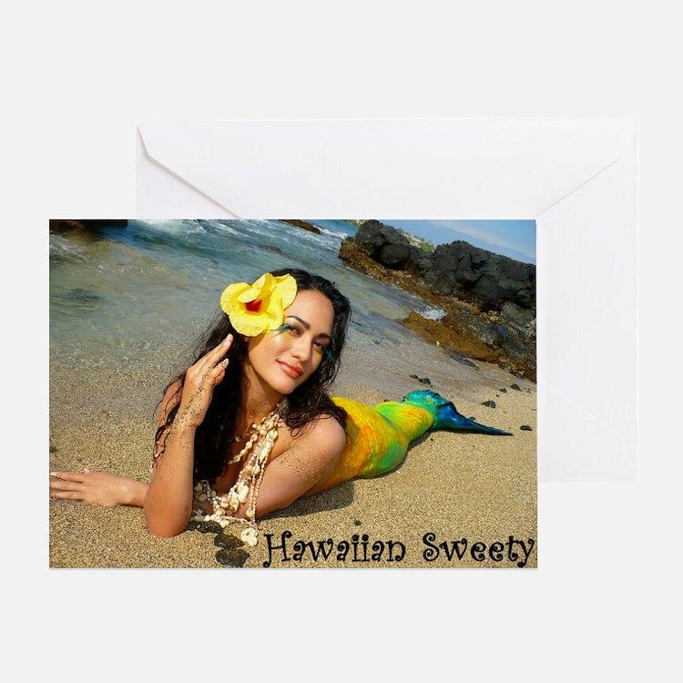 mahuliaCOVERTEXT Greeting Card