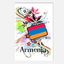 flowerArmenia1 Postcards (Package of 8)