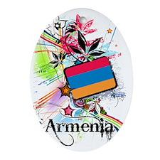 flowerArmenia1 Oval Ornament