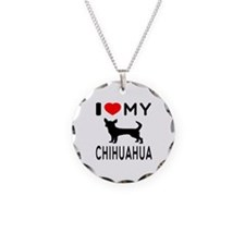 I Love My Chihuahua Necklace