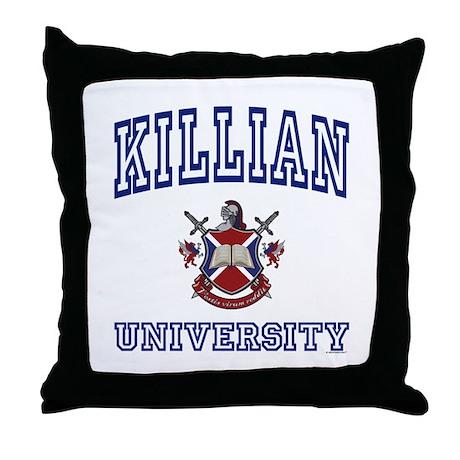 KILLIAN University Throw Pillow