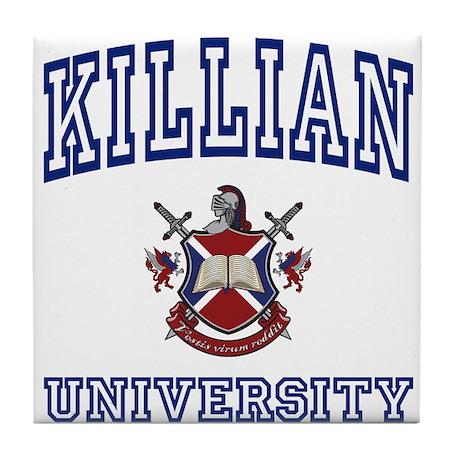 KILLIAN University Tile Coaster