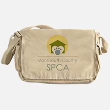 THE Monmouth County SPCA LOGO Messenger Bag