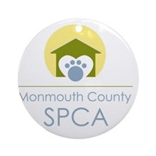 THE Monmouth County SPCA LOGO Round Ornament
