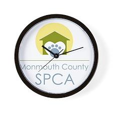 THE Monmouth County SPCA LOGO Wall Clock