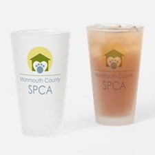 THE Monmouth County SPCA LOGO Drinking Glass