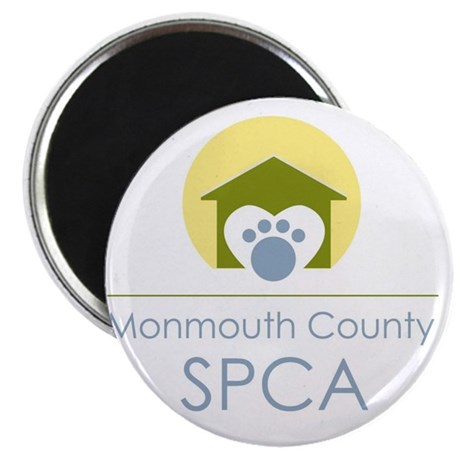 THE Monmouth County SPCA LOGO Magnet