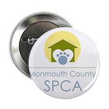 """THE Monmouth County SPCA LOGO 2.25"""" Button"""