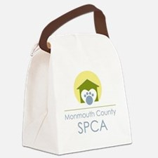 THE Monmouth County SPCA LOGO Canvas Lunch Bag