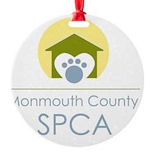 THE Monmouth County SPCA LOGO Ornament