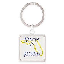 Florida - Hangin Square Keychain