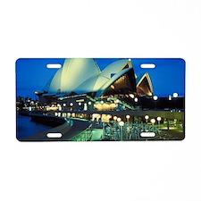 australia13 Aluminum License Plate