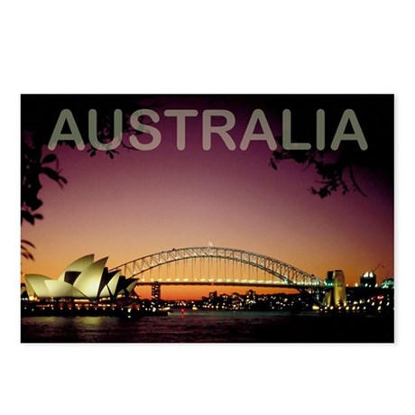 australia14 Postcards (Package of 8)