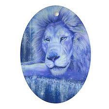 Dream Lion Oval Ornament