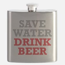 Save Water Flask