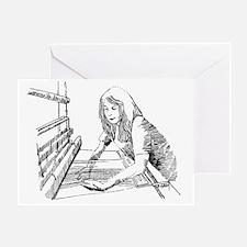 weaving Greeting Card