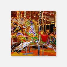 "Fairground Attraction Square Sticker 3"" x 3"""