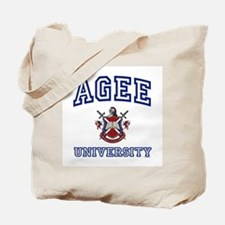 AGEE University Tote Bag