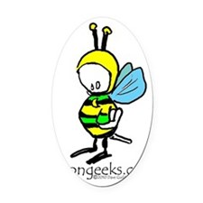 The Buzz copy Oval Car Magnet