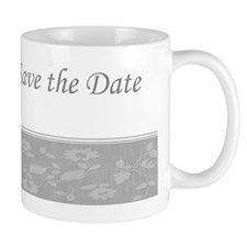 Save the date silver Ncard Mug