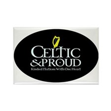 CelticProud_Eire5x3oval_sticker Rectangle Magnet