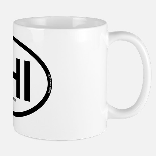 HHI HILTON HEAD ISLAND OVAL REC 1 Mug
