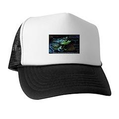 Feelin Froggie Punk Trucker Hat