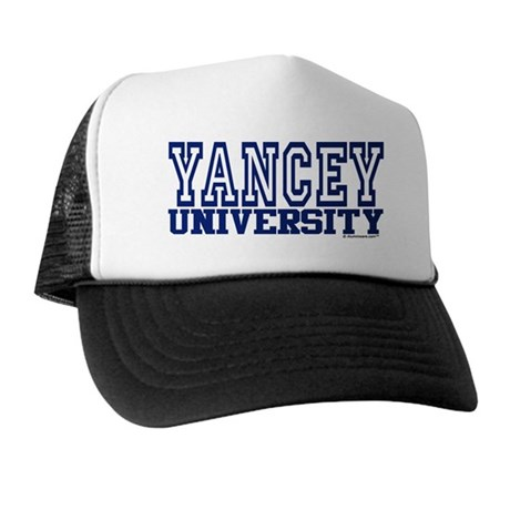 YANCEY University Trucker Hat