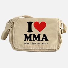I Heart MMA Messenger Bag