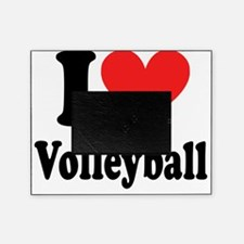 i heart volleyball ( i love my t shi Picture Frame