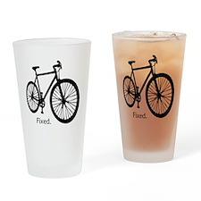 fixieshirt Drinking Glass