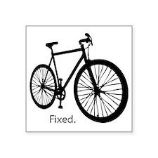 "fixieshirt Square Sticker 3"" x 3"""
