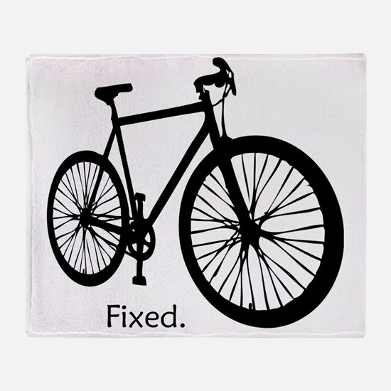 fixieshirt Throw Blanket