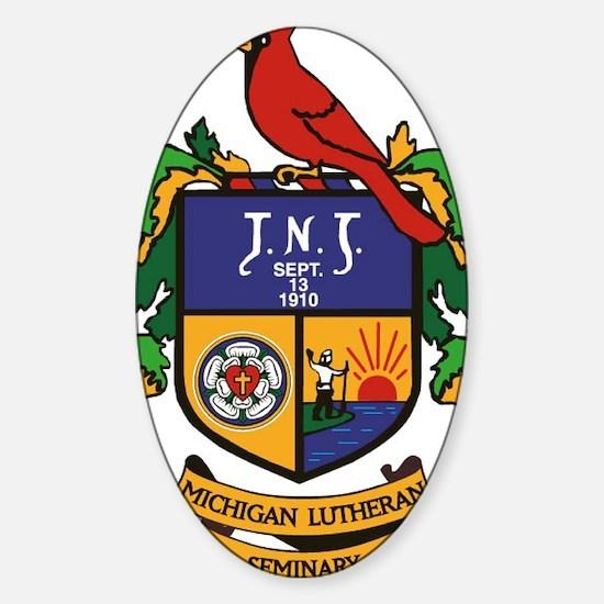 mls. Sticker (Oval)
