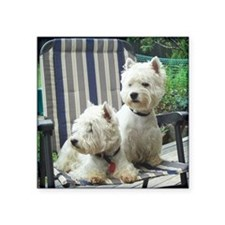 "Westiechairsq Square Sticker 3"" x 3"""