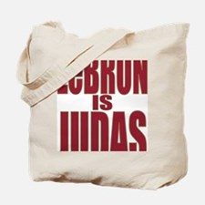 ART LeBron is Judas 3 Tote Bag
