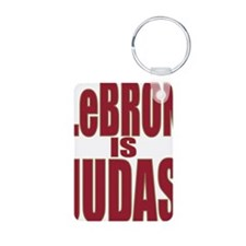 ART LeBron is Judas 3 Keychains