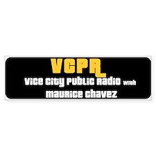 Vice City Public Radio Bumper Bumper Sticker