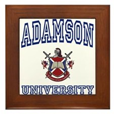 ADAMSON University Framed Tile