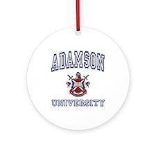 ADAMSON University Ornament (Round)