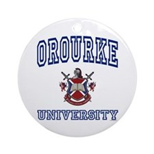 OROURKE University Ornament (Round)