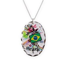 flowerBrazil1 Necklace