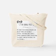 GNU/GPL Tote Bag