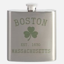 boston-massachusetts-irish-green Flask