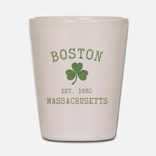 boston-massachusetts-irish-green Shot Glass