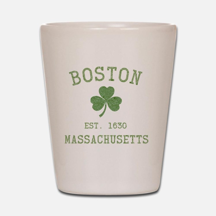 boston-massachusetts-irish-green Shot Glass