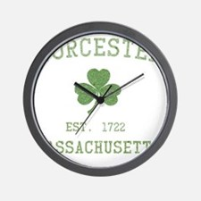 worcester-massachusetts Wall Clock